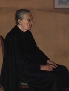 Retrato anciana sacristan