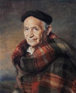 retrato sacristan