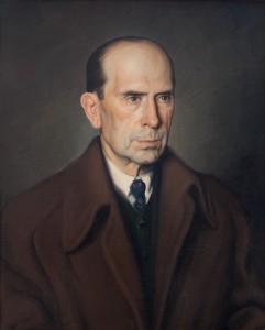 Retrato padre del pintor sacristan