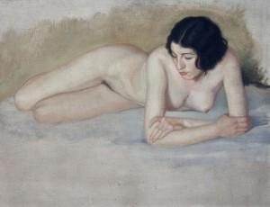 Sacristan mujer desnuda