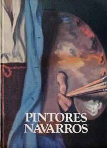 portada del libro pintores navarros, detalle del autorretrato de Sacristán